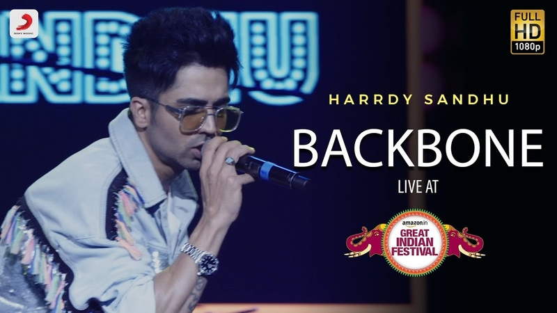 Backbone - Live @ Amazon Great Indian Festival   Harrdy Sandhu