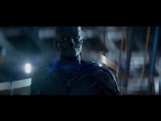 Terminator Genisys- Pops vs T-3000