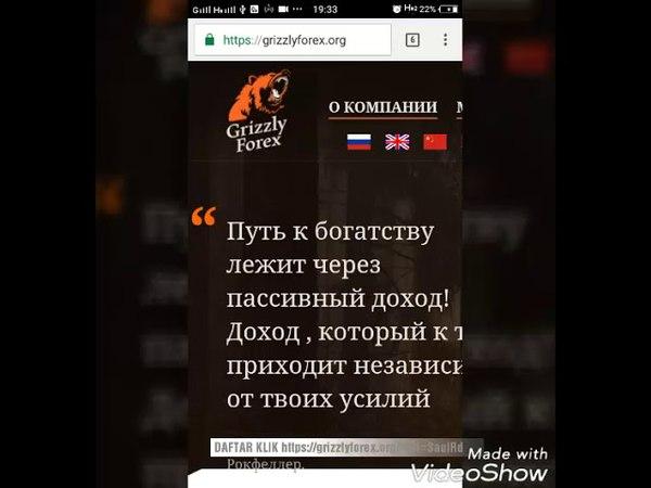 GrizzlyForex MENCETAK UANG 1 2JT 24JAM 15% BISA WD JAM