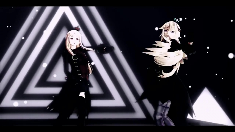 【APヘタリアMMD】- Womanizer - 2p!Fem!Russia-Fem!Prussia