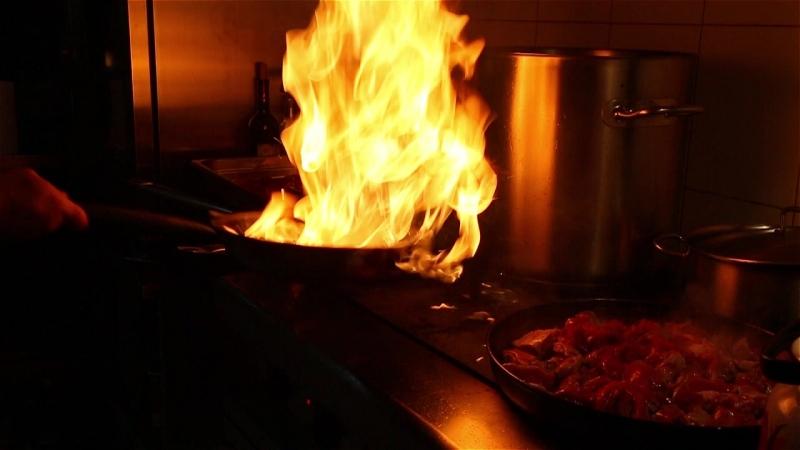 Еда огонь