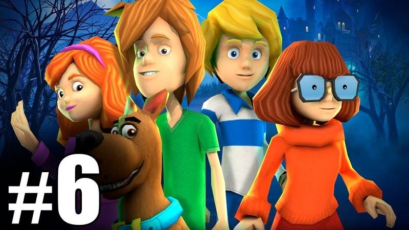 6 Обзор и летсплей по игре Скуби Ду Зловещий замок Letsplay game Scooby Doo First Frights