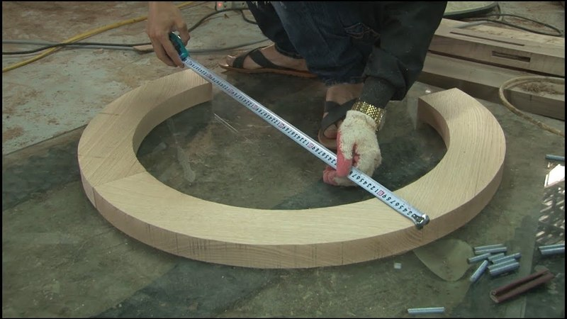 How To Create a Beautiful Round Mirror - Amazing Technology