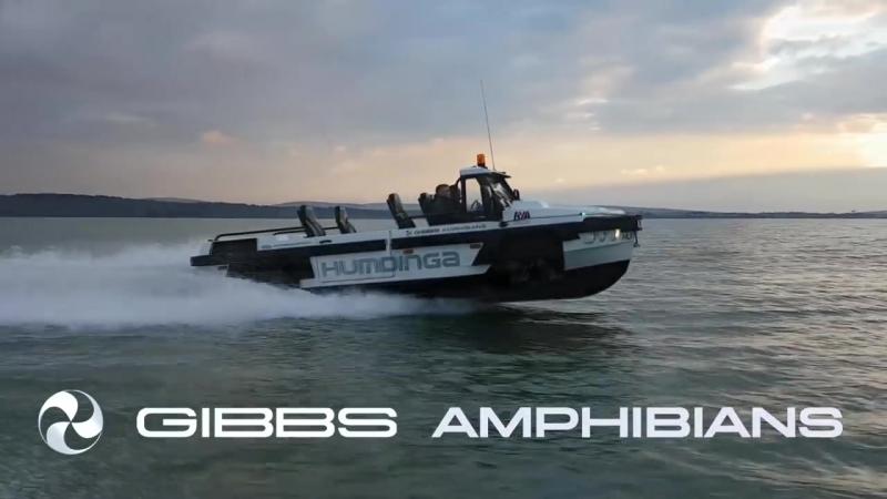 Gibbs Amphibians - Humdinga Sea Trials - High Speed Amphibious Truck