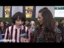 Интервью c кастом Очень странных дел на церемонии вручения премии MTV Movie TV Awards 16 июня 2018