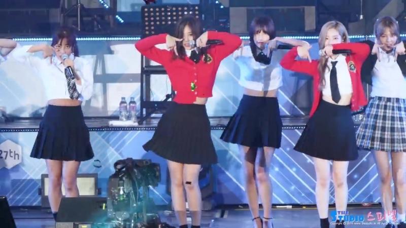180623 TWICE - TT @ Lotte Family Concert (Tzuyu focus)