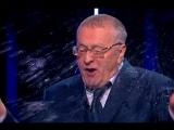 Скандал на дебатах! Жириновский назвал Собчак дурой, она - плеснула в него водой.