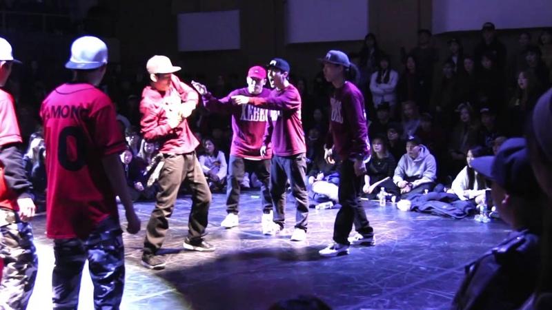 Xebec vs. Lock'n'lol crew - Quarter final @Battle is over 2016