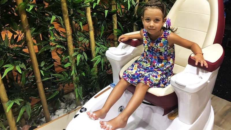 Детский Салон Красоты Эмилюша и кукла Беби Бон в Спа Салоне/Spa Kids/ Спа программа для детей