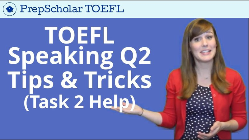 NEW Tips and Tricks for TOEFL Speaking Question 2 | Independent Task 2