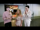 Kevin Woo with Johnny Weir and Tara Lipinski ( KCON 2017 LA) 23.03.18