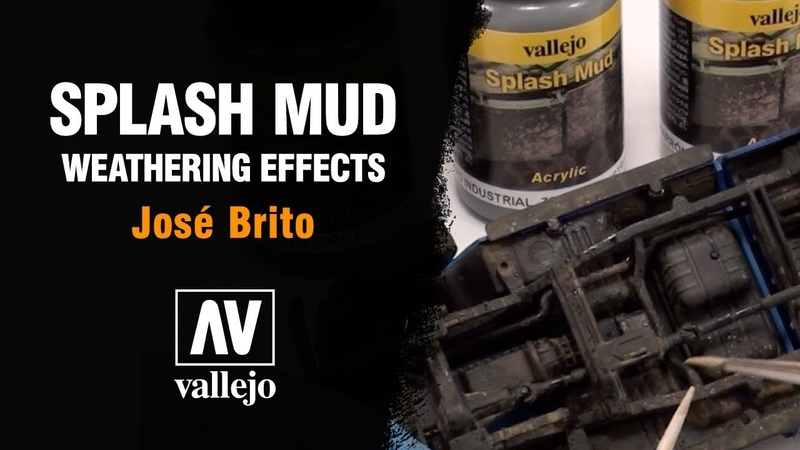Splash Mud vallejo weathering effects