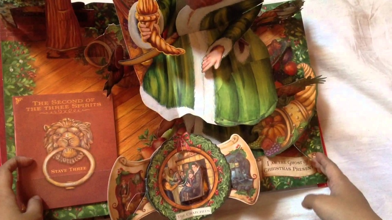 A Christmas Carol by Charles Dickens pop-up Book