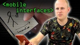 Mobile Interface Problems - Computerphile