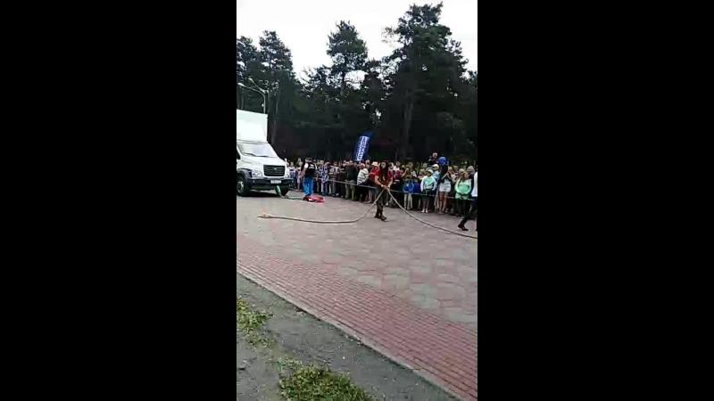 тяга газель некст 10 тонн парк Гагарина
