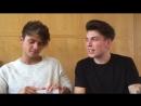 Intervista a Benji e Fede a Milano