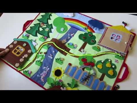 Розвиваючий килимок для дітей. Developing mat for children