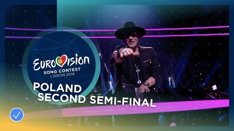 Gromee feat Lukas Meijer Light Me Up Poland LIVE Second Semi Final Eurovision 2018