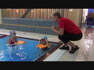 Сплит-тренировка с Мариной Костенко