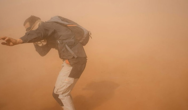 Рики Макги Австралиец потерял почти половину своего веса во время вынужденных странствий по пустыням северной части континента. Его машина сломалась, и он пешком отправился до ближайшего