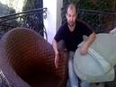 Перетяжка мебели Севастопол 7 978 883 47 89 Ротанговые кресла