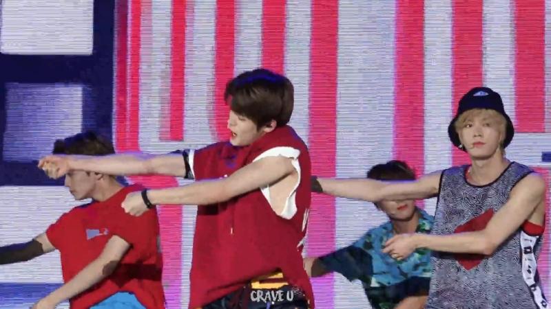 [fancam] 180723 NCT 127 - TOUCH (JF) @ Music Core Ulsan Summer Festival
