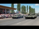 Парад в честь 75-летия Победы в Курской битве. Механизированная колонна.