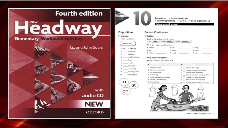 New Headway Elementary Exercise Book 4th -Unit 10