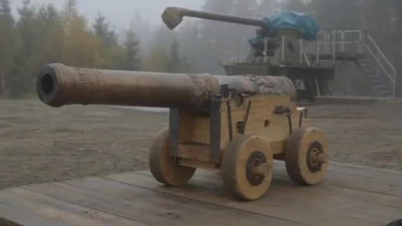 В Швеции дали залп из точной копии пушки XVII века