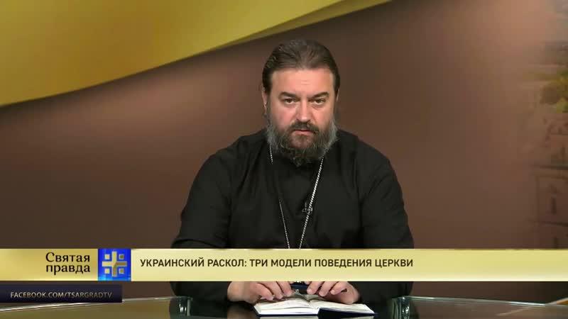 Протоиерей Андрей Ткачев. Украинский раскол_ три модели поведения Церкви