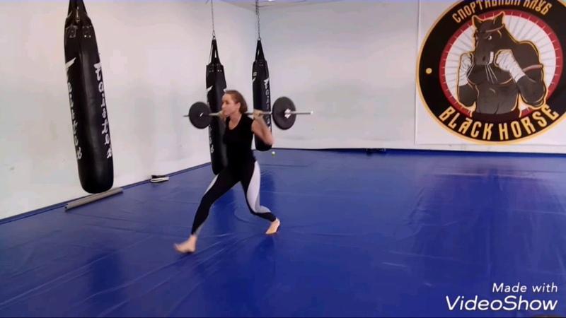 Кроссфит. Упражнения на ноги и ягодицы. Хороший комплекс. Тренер: Ратманский С.И. СК Black Horse