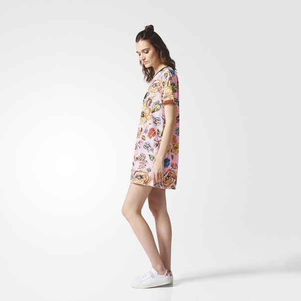 Платье-футболка Floralita