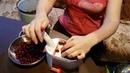 Я САМА. Машинка для удаления косточек из вишни. Супер способ!