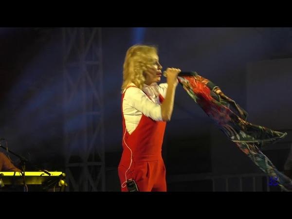 Ейску 170 лет.Праздничный концерт, выступает Виктория Цыганова. 18.08.2018.