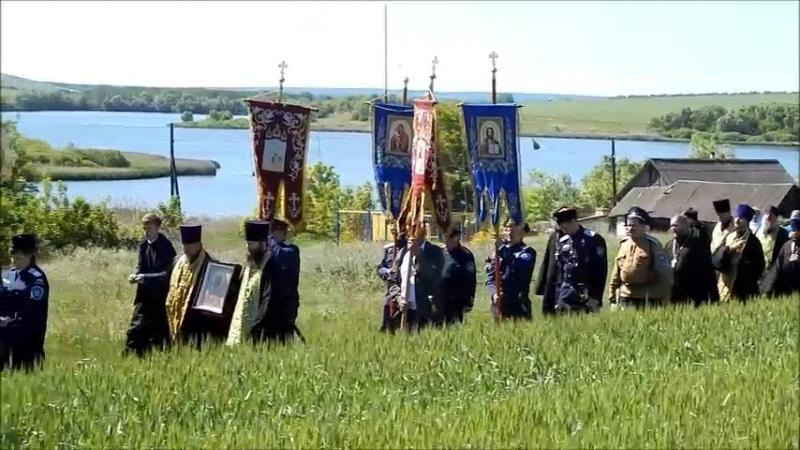 Крестный ход к бывшему Варваринскому монастырю 2018 год
