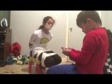Kayla's duct tape challenge