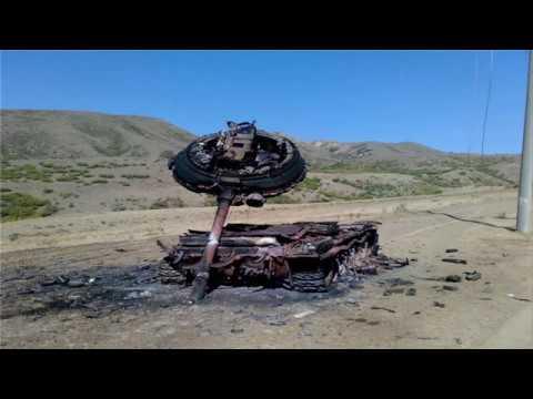 Российские танки против Javelin в Украине беспомощны