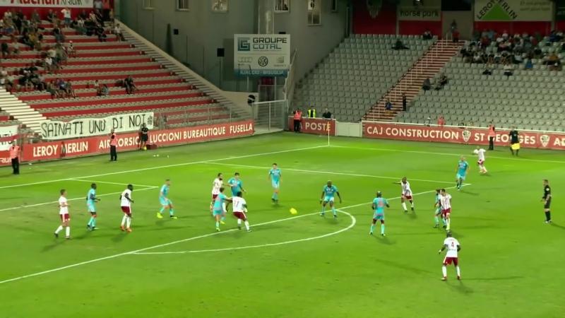 AC Ajaccio - FC Lorient ( 0-0 ) - Résumé - (ACA - FCL) _ 2018-19