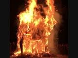 сожжение чучела