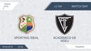 AFL18. France. Ligue 2. Day 12. Sporting ideal - Academico de Viseu.