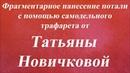 Нанесение потали с помощью самодельного трафарета. Университет Декупажа. Татьяна Новичкова