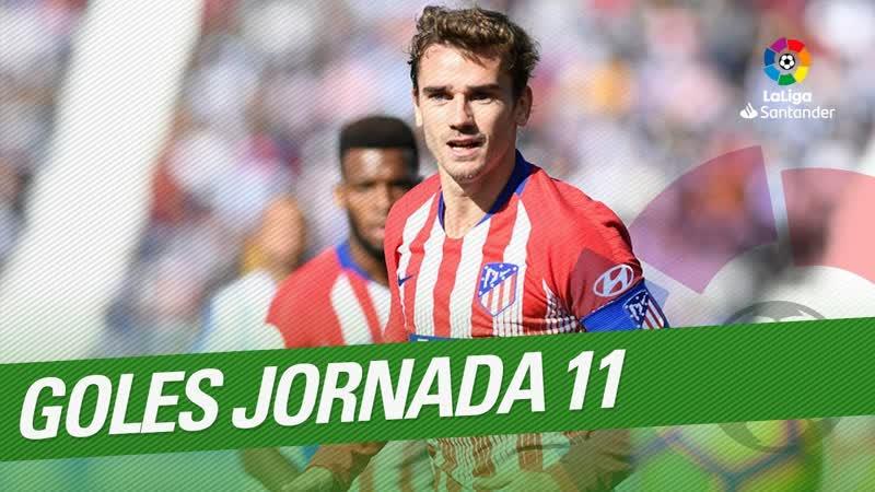 Todos los goles de la Jornada 11 de LaLiga Santander 2018 2019