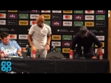 Pep Guardiola might have been a little upset at Jürgen Klopp walking into his press conference to loud cheers