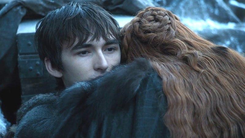 Sansa se reencuentra con Bran Stark Juego de Tronos Español HD