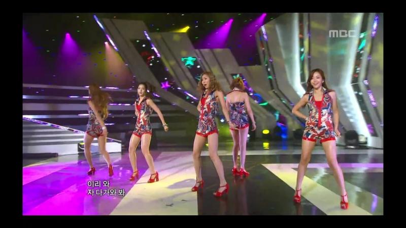 110910음악중심 - Dal Shabet - Bling Bling, 달샤벳 - 블링 블링, Music Core