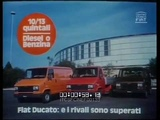 AD FIAT Ducato (gamma) - Basketball (I rivali sono superati) (long version) 1982 ita