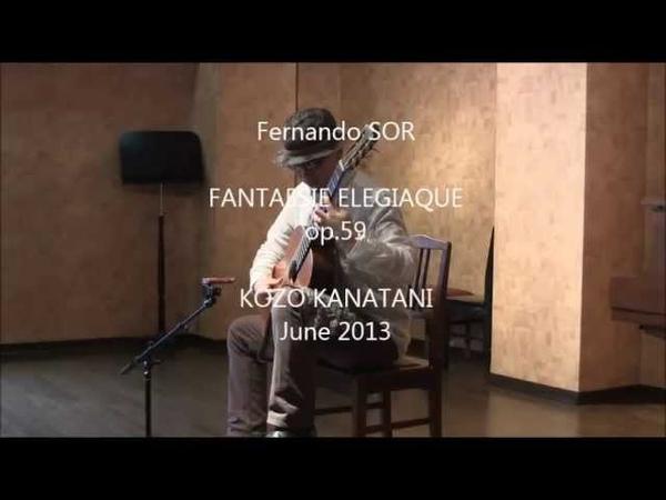 Fernando SOR Fantasie Elegiaque op 59