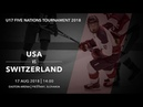 U17 5 Nations Tournament 2018 | USA – Switzerland