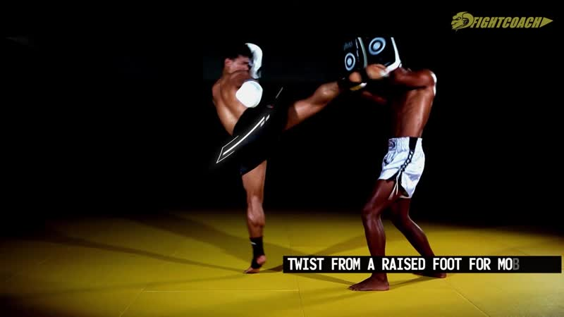 Muay Thai | Striking Combo JabCrossLeft Hook to BodyHigh Kick