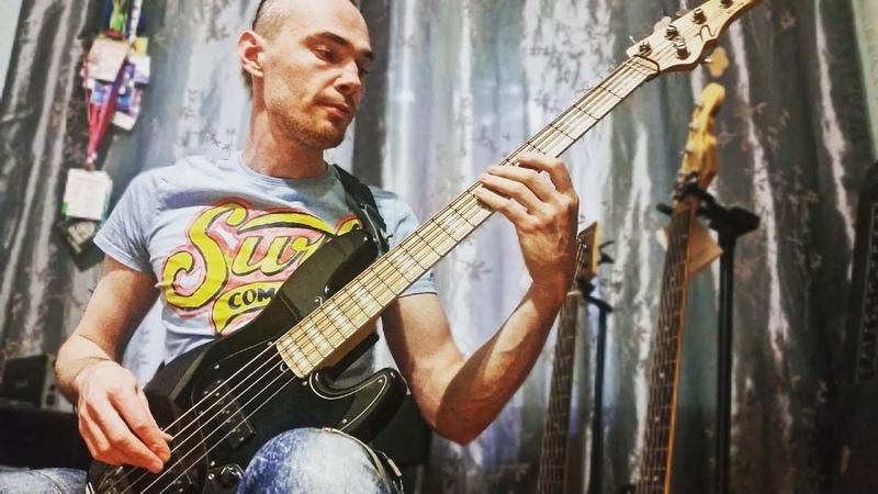 Hooligan Bass Jam on Nordy VJ5. Modern Jazz Bass.